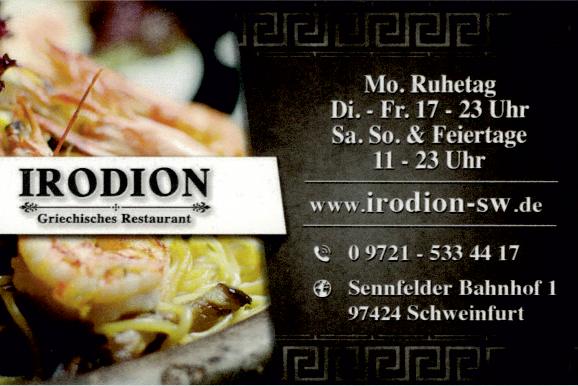 IRODION - Griechisches Restaurant