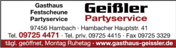 Geißler Partyservice